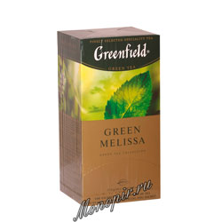 Чай Greenfield Green Melissa Пакетики