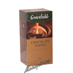 Чай Greenfield Chocolate Toffee Пакетики