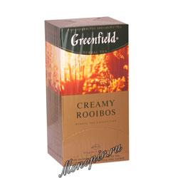 Чай Greenfield Creamy Rooibos Пакетики