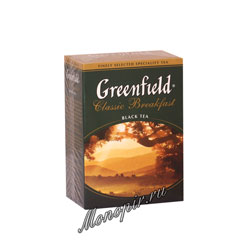 Чай Greenfield Classic Breakfast 100 гр