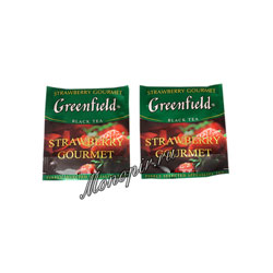 Чай Greenfield Strawberry Gourmet в Пакете