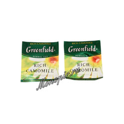 Чай Greenfield Rich Camomile в Пакете