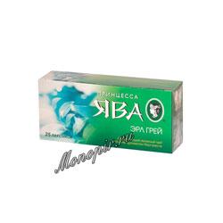 Чай Принцесса Ява Эрл Грей зеленый в пакетиках 25 шт