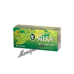 Чай Принцесса Ява зеленый в пакетиках 25 шт