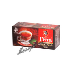 Чай Принцесса Гита Черный 2гр-25шт в пакетиках