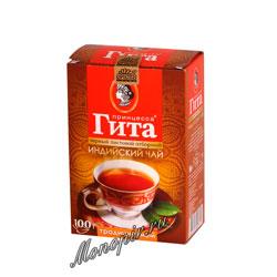 Чай Принцесса Гита Традиционный Листовой Черный 100 гр