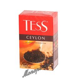Чай Tess черный Ceylon 100 гр