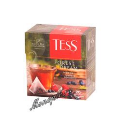Чай Tess Черный Forest Dream (Малина и черника) пирамидки 20 пак.