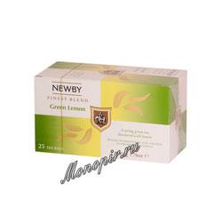Чай Newby Зеленый лимон 25 шт