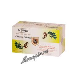 Чай Newby Женьшеневый улонг 25 шт