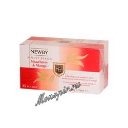 Чай Newby Клубника и манго 25 шт