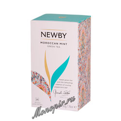 Чай Newby Марокканский чай с мятой 25 шт