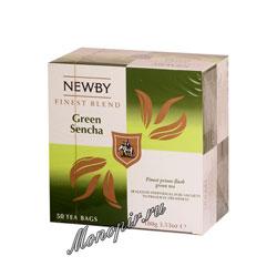 Чай Newby Зеленая сенча 50 шт
