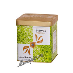 Листовой чай Newby Safari Зеленая сенча 125 гр
