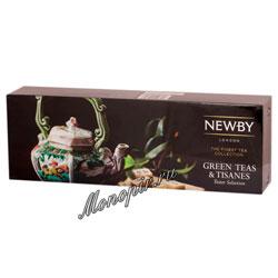 Подарочный набор Newby листового чая Коллекция зеленых чаев 4 вида