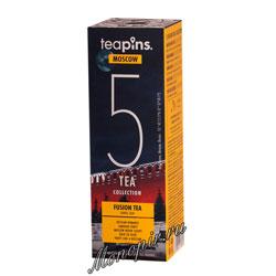 Подарочный набор Sense Asia Moscow Teapins 5 видов смешанного чая