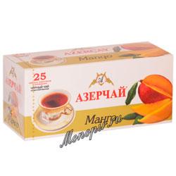 Чай Азерчай Манго черный (25 пак)