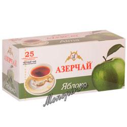 Чай Азерчай Яблоко черный (25 пак)