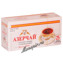 Чай Азерчай Бергамот черный 25 пак.