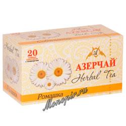 Чай Азерчай травяной с ромашкой (20 пак)