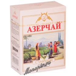 Чай Азерчай черный с чабрецом 100 гр
