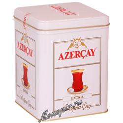 Чай Азерчай Экстра черный 250 гр ж/б