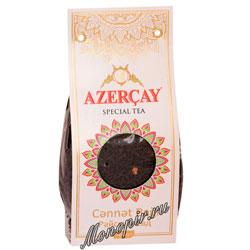 Чай Азерчай Райские сады черный с яблоком и айвой 100 гр