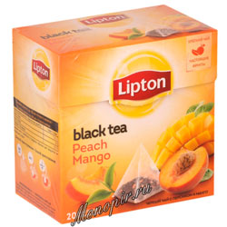 Чай Lipton Peach Mango (20 пирамидок)