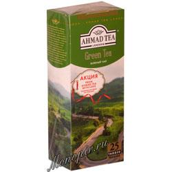 Чай Ahmad Пакет Зеленый чай 2гр*25 шт.