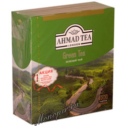 Ahmad Tea Green Tea в пакетиках