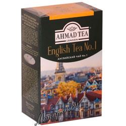 Чай Ahmad Листовой Английский №1. Черный, 100 гр