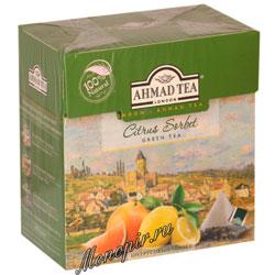 Ahmad Tea в пирамидках Citrus Sorbet