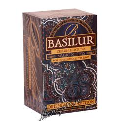 Чай Basilur ВОСТОЧНАЯ Волшебные ночи в пакетиках 20 шт х 2гр