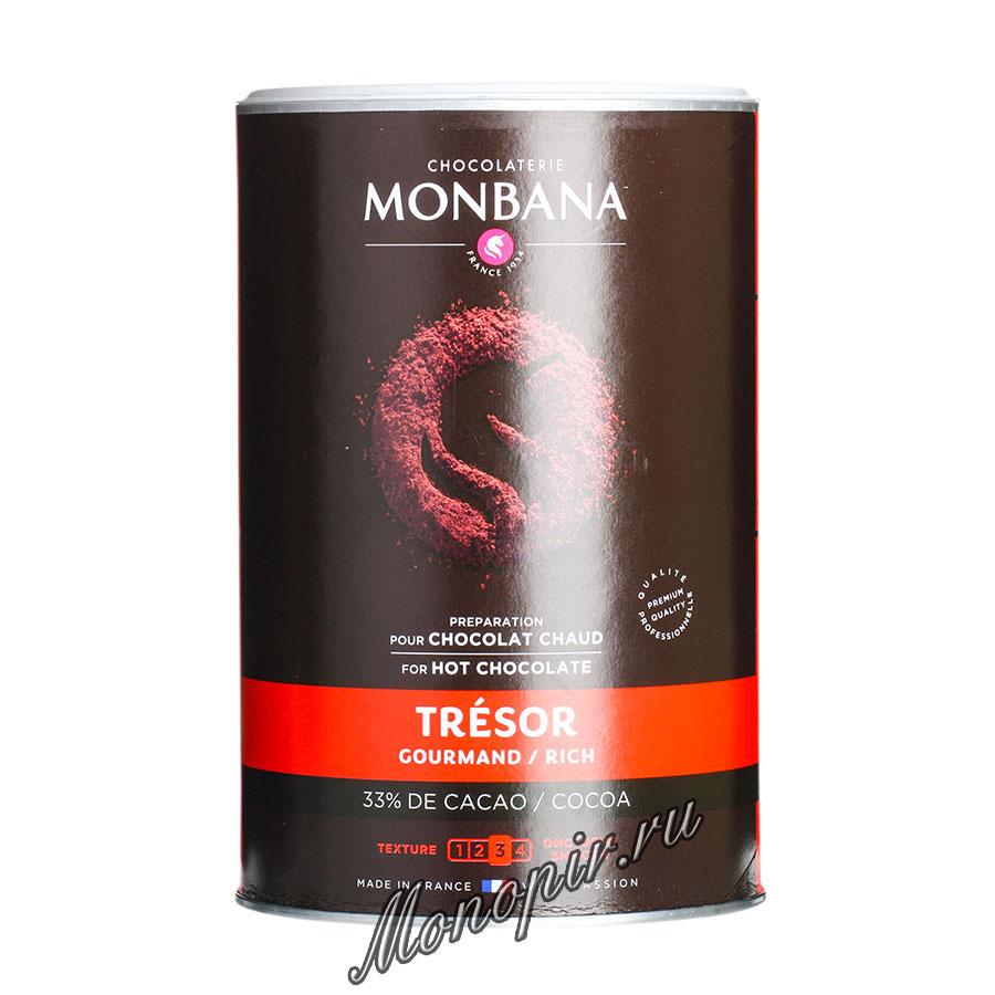 Горячий шоколад Monbana Шоколадное сокровище 1 кг