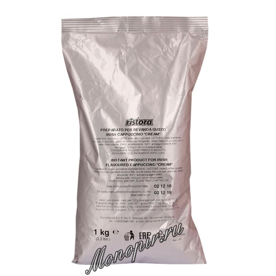 Горячий шоколад Ristora Ирландские виски 1 кг пакет