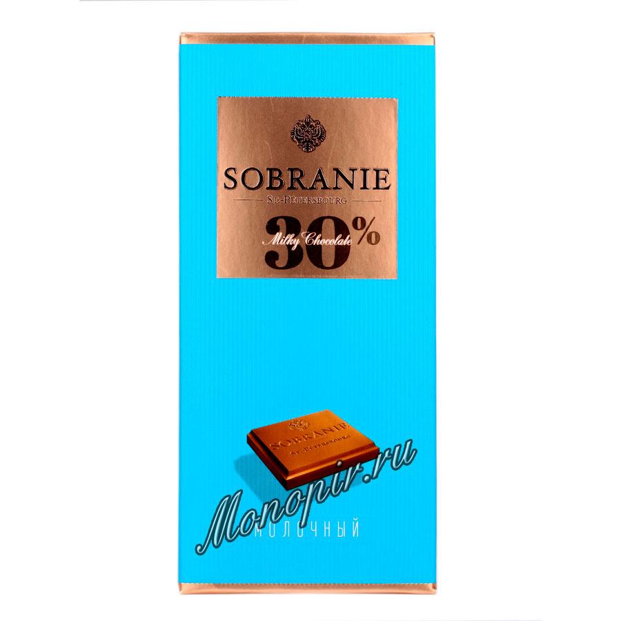 Шоколад Sobranie Молочный 100 гр