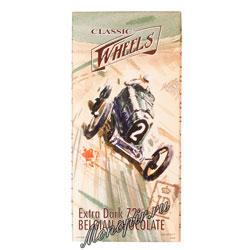 Шоколад Belgian Classic Wheels горький 72 % 100 гр