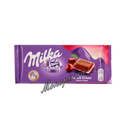 Шоколад Milka Cherry Cream 100 гр