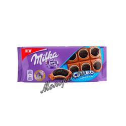 Шоколад Milka Oreo Sandwich 100 гр