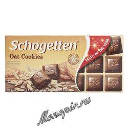 Шоколад Schogetten Oat Cookiies с овсяным печеньем 100 гр
