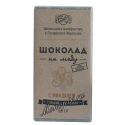 Шоколад на меду Миндаль 90 гр