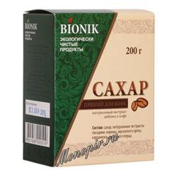 Сахар пряный для кофе Bionik 200 гр