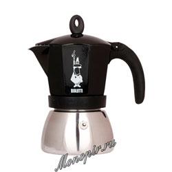 Гейзерная кофеварка Bialetti Moka Induction на 6 порции (240 мл)