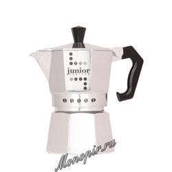 Гейзерная кофеварка Bialetti Junior на 3 порции 120 мл