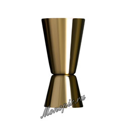 Джиггер 25/50 золото (LD008-LG)