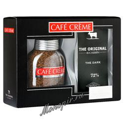 Подарочный набор Cafe Creme и Bucheron The Original горький шоколад