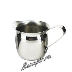 Молочник стальной 100 мл (02126)