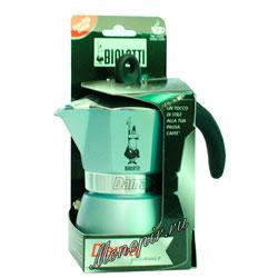 Гейзерная кофеварка Bialetti Dama Glamour 3 порции (120 мл)