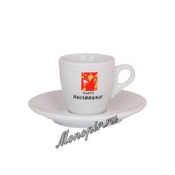 Чашка и блюдце Hausbrandt для эспрессо