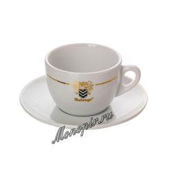 Чашка с блюдцем Malongo для капучино